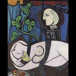 Pablo Picasso - Akt, zeleno lišće i bista
