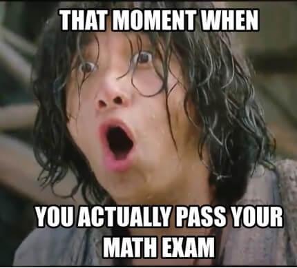 Kad slučajno prođete matematiku