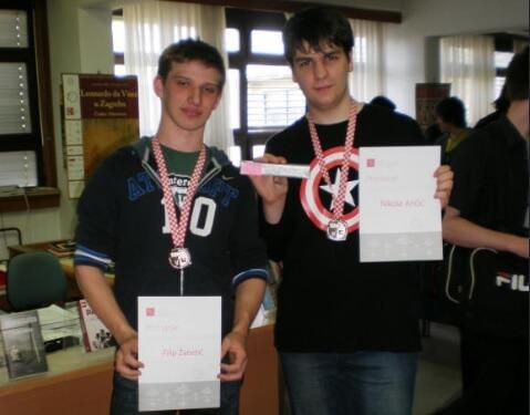 Jedan smjer, desetak učenika i dvije medalje s nacionalnog prvenstva