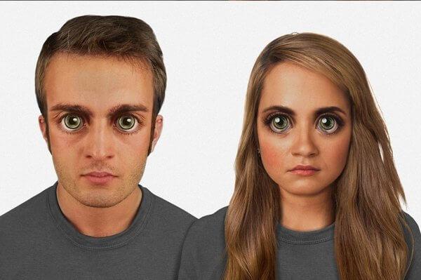 Fotogalerija: Ljudi će za sto tisuća godina izgledati kao likovi iz anime crtića