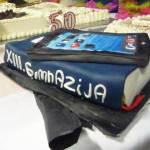 Foto: srednja.hr /Slavljenička torta