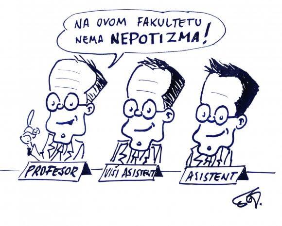 U Hrvatskoj ne postoji fakultet koji nije pao u ralje korupcije i nepotizma