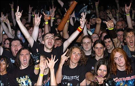 Evo što su znanstvenici zaključili o fanovima metala