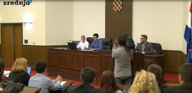 Udruga srednjoškolaca u Hrvatskom saboru je izabrala svoje nove predstavnike