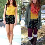 Sve što nosite ljeti možete obući i zimi uz dodatak nekoliko toplih slojeva.
