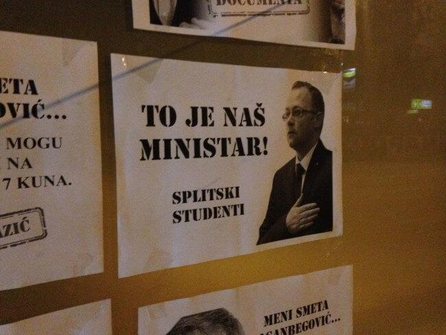 'Splitski studenti' sramite se!