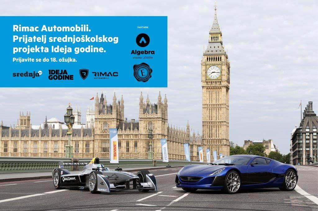 Rimac Automobili postali prijatelj srednjoškolskog projekta Ideja godine
