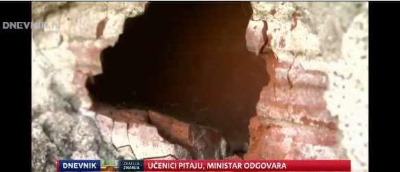Vukovarski učenik pitao ministra zašto se prije škola obnavlja vodotoranj