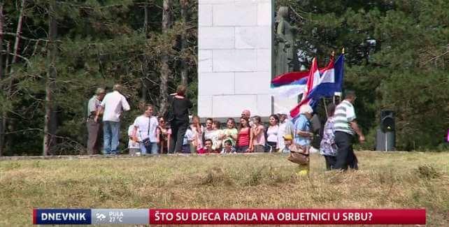 Osnovnoškolce vodili na izlet u Srb gdje se slavila obljetnica ustanka
