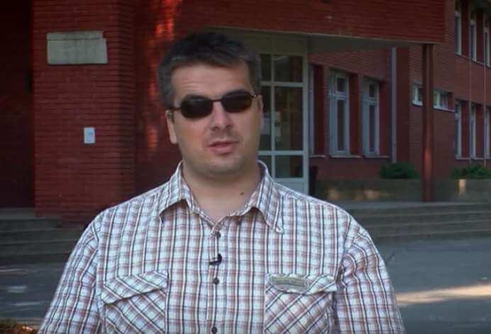 Obrtničku škola Koprivnica slijepoj prvašici dovela slijepog profesora da  njoj i profesorima pokaže što sve slijepi mogu