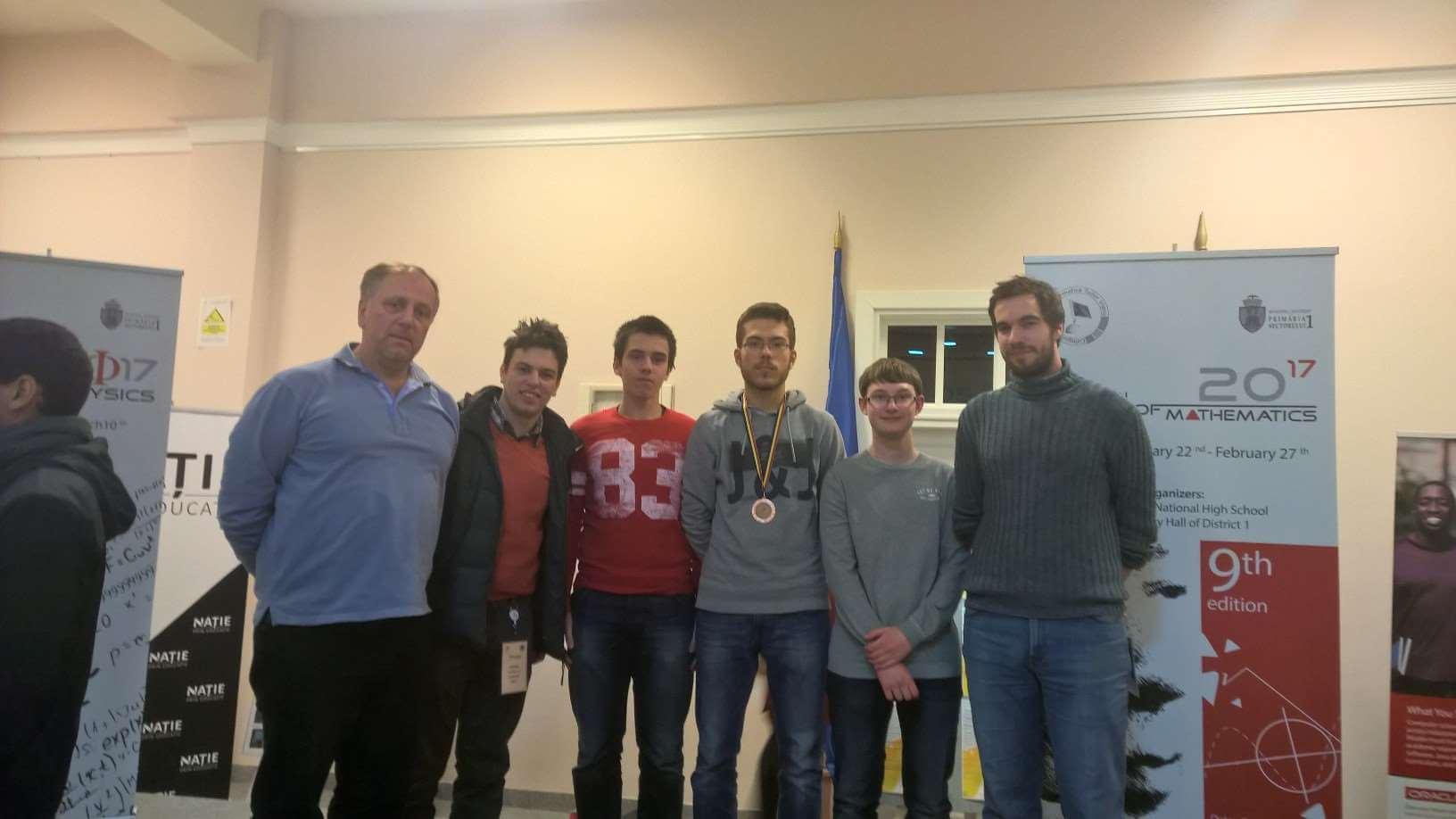 Pala bronca na prestižnom matematičkom natjecanju u Rumunjskoj