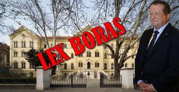 [LEX BORAS] Izmjene zakona s kojima će za rektore sedamdesete postati nove šezdesete