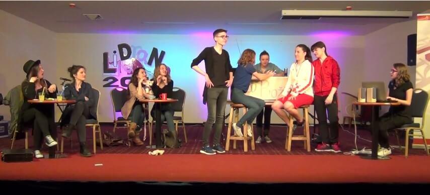 [LiDraNo '17] Glumačka družina iz Zlatara dobro nasmijala publiku svojom kaotičnom predstavom