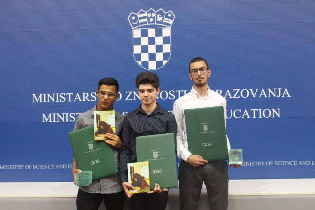 Poseban trenutak za hrabre i tolerante: Učenicima dodijeljena Nagrada 'Luka Ritz' 2017.