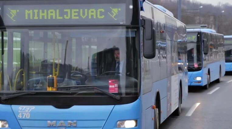 Od ponedjeljka se pokreće javni prijevoz: ZET uvodi preko sto linija, a 14 je pravila prilikom vožnje
