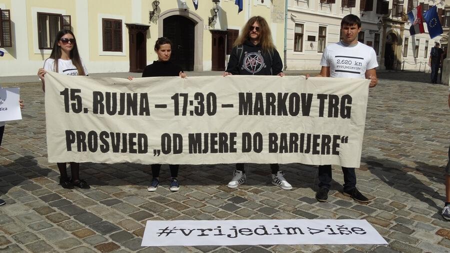 Sljedeći tjedan prosvjed za radnička prava mladih: 'Plenković i ministar govore neistinu, dosta je ušminkane statistike'