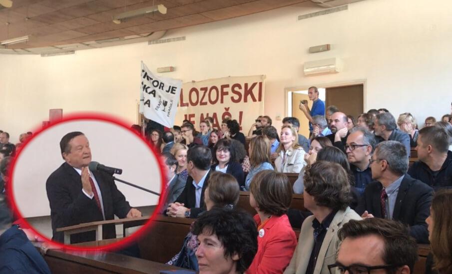 'Rektor želi izazvati novu krizu': Pročitajte dokument kojim Boras odbija kandidaturu Jovanovića za dekana Filozofskog