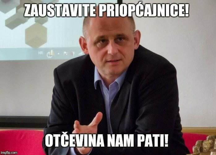 Voditelj ilegalnih Hrvatskih studija sa spinovima u borbi protiv Studenata koji Govore
