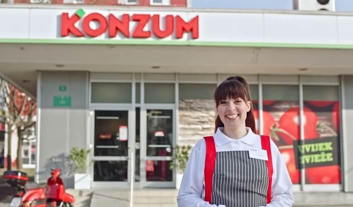 Čak 16 prodavaonica Konzuma traži studente za rad: Provjerite koja je satnica i uvjeti rada