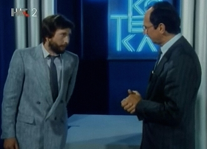 [ZADATAK DANA] Prije 30 godina u Kviskoteci je nastupio Nosonja iz Naselka: Znate li odgovor na njegovo prvo pitanje?