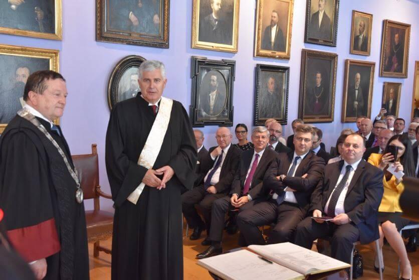 Boras ima novog Čovića: Dodijeljen kontroverzan počasni doktorat, sa svečanosti izostali neki dekani Sveučilišta