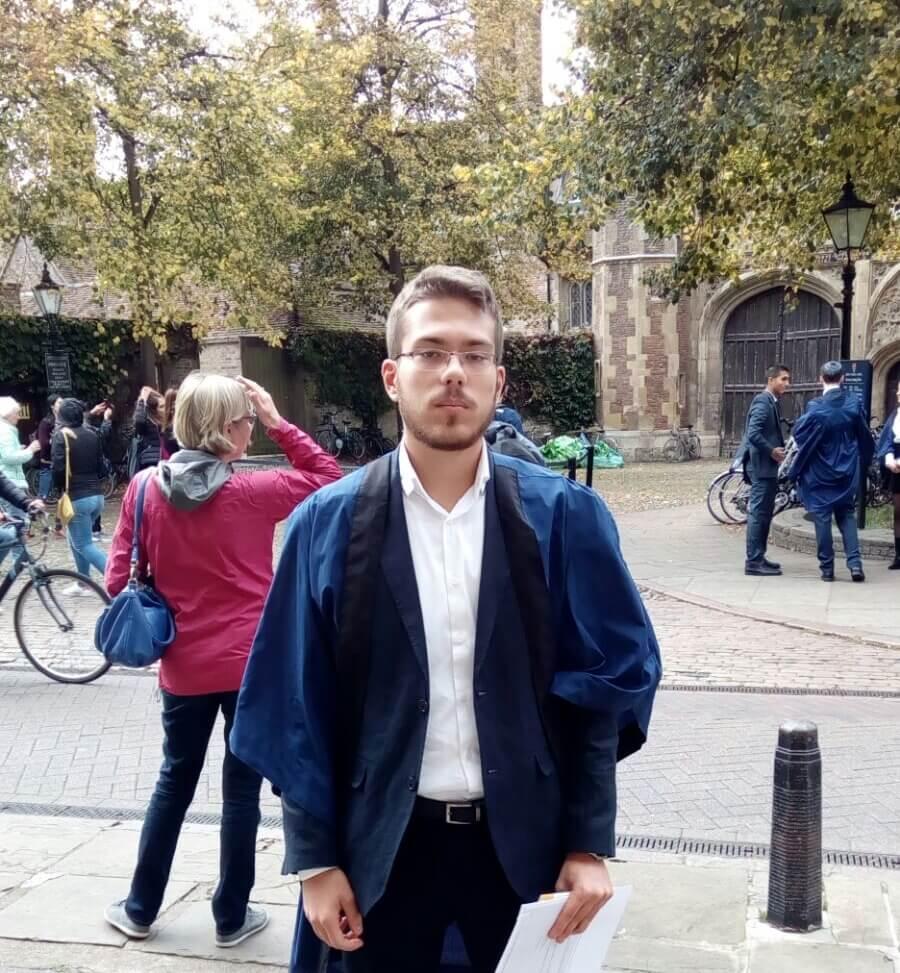 Adrian je slovio za jednog od najuspješnijih hrvatskih učenika, a danas 'rastura' na Cambridgeu