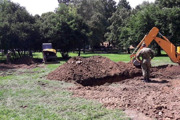Iz masovne grobnice u dvorištu zagrebačkog fakulteta iskopani posmrtni ostaci najmanje 25 osoba