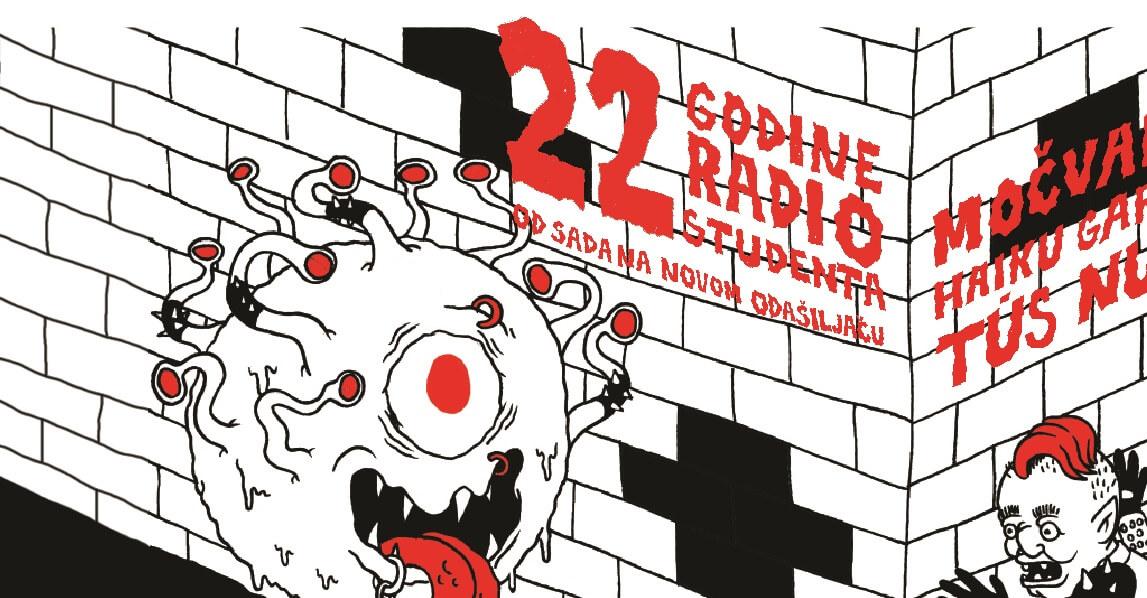 Radio Student 22. rođendan slavi početkom emitiranja na novom odašiljaču i velikim tulumom u Močvari
