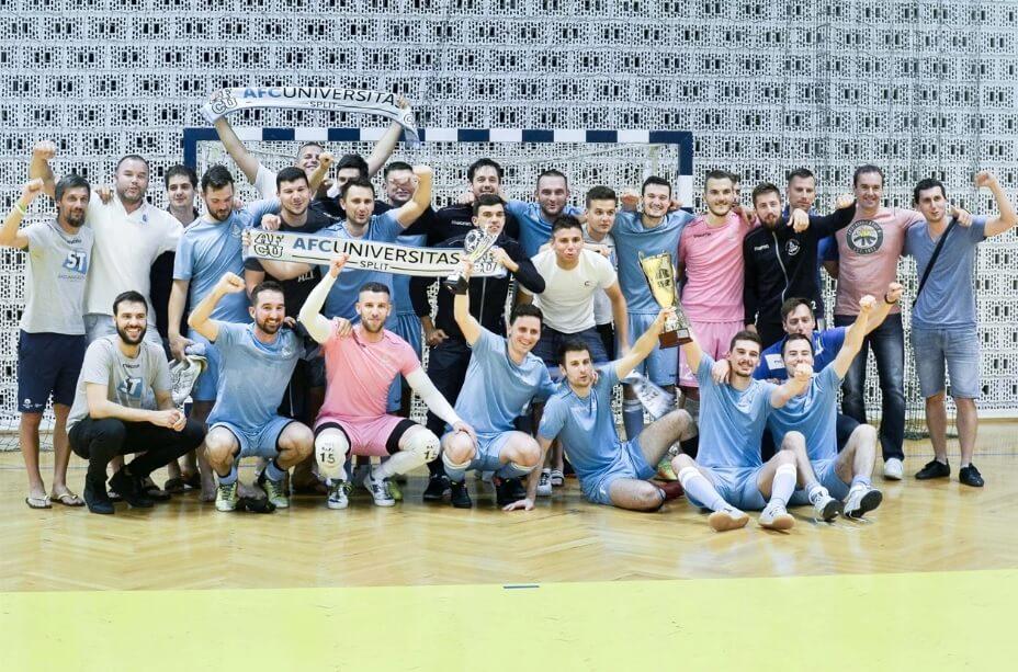 AFC Universitas je futsal senzacija: Amaterski klub kojeg čine isljučivo studenti izborio zahtjevnu prvu ligu