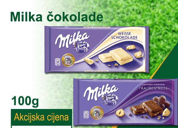 Momentalni dijabetes: U Food outletu Milka čokolade gotovo džaba