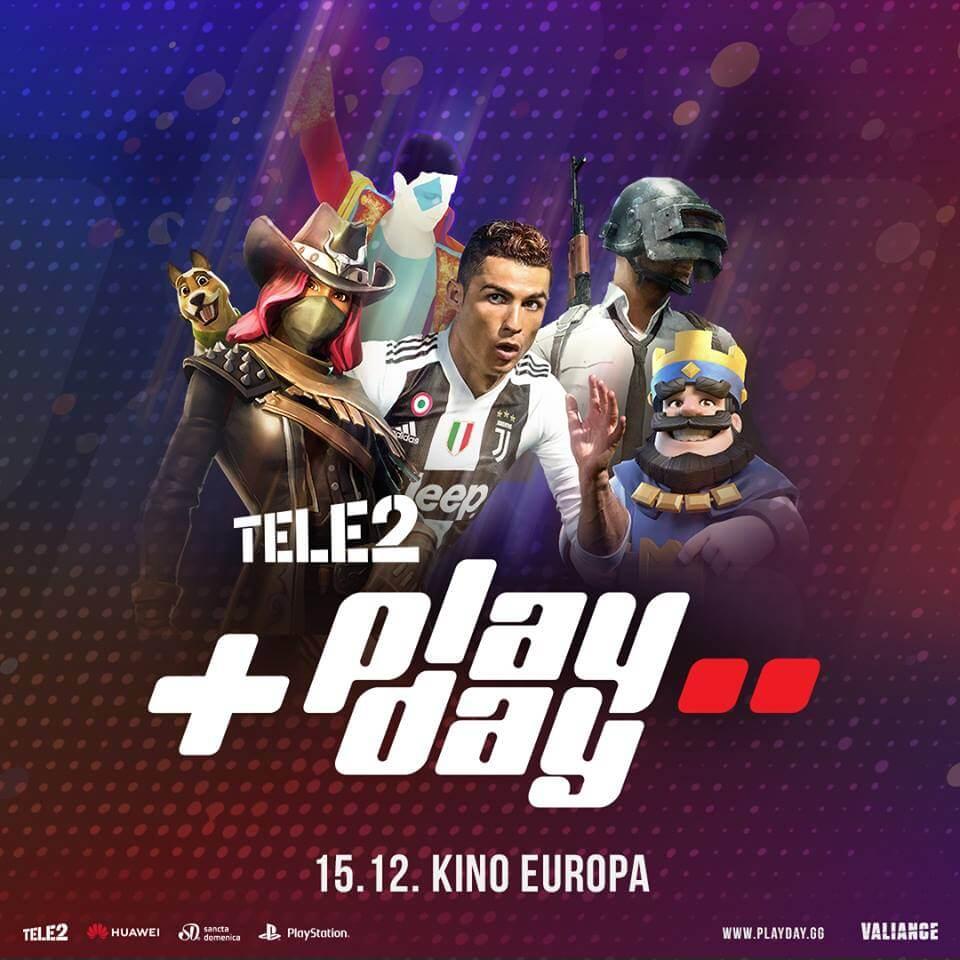 Dođite, besplatno je: Tele2 PlayDay turnir sutra u Zagrebu traži najbolje FIFA i Fortnite igrače