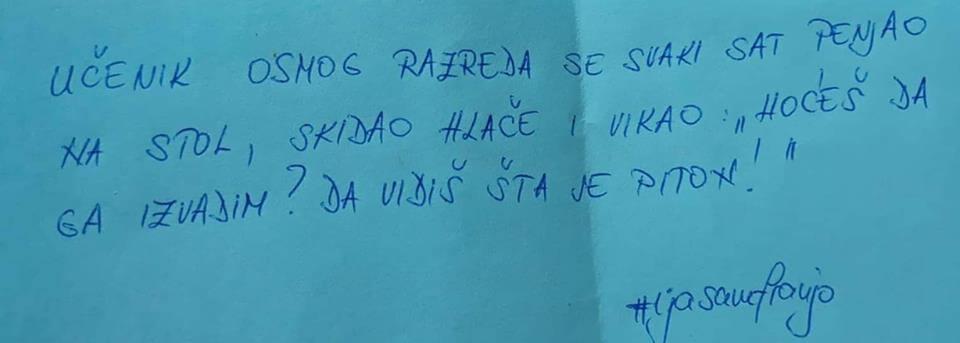 Šire se horor priče nastavnika iz hrvatskih škola: 'Učenik mi je stavio nož na vrat uz prijetnje ubojstvom'