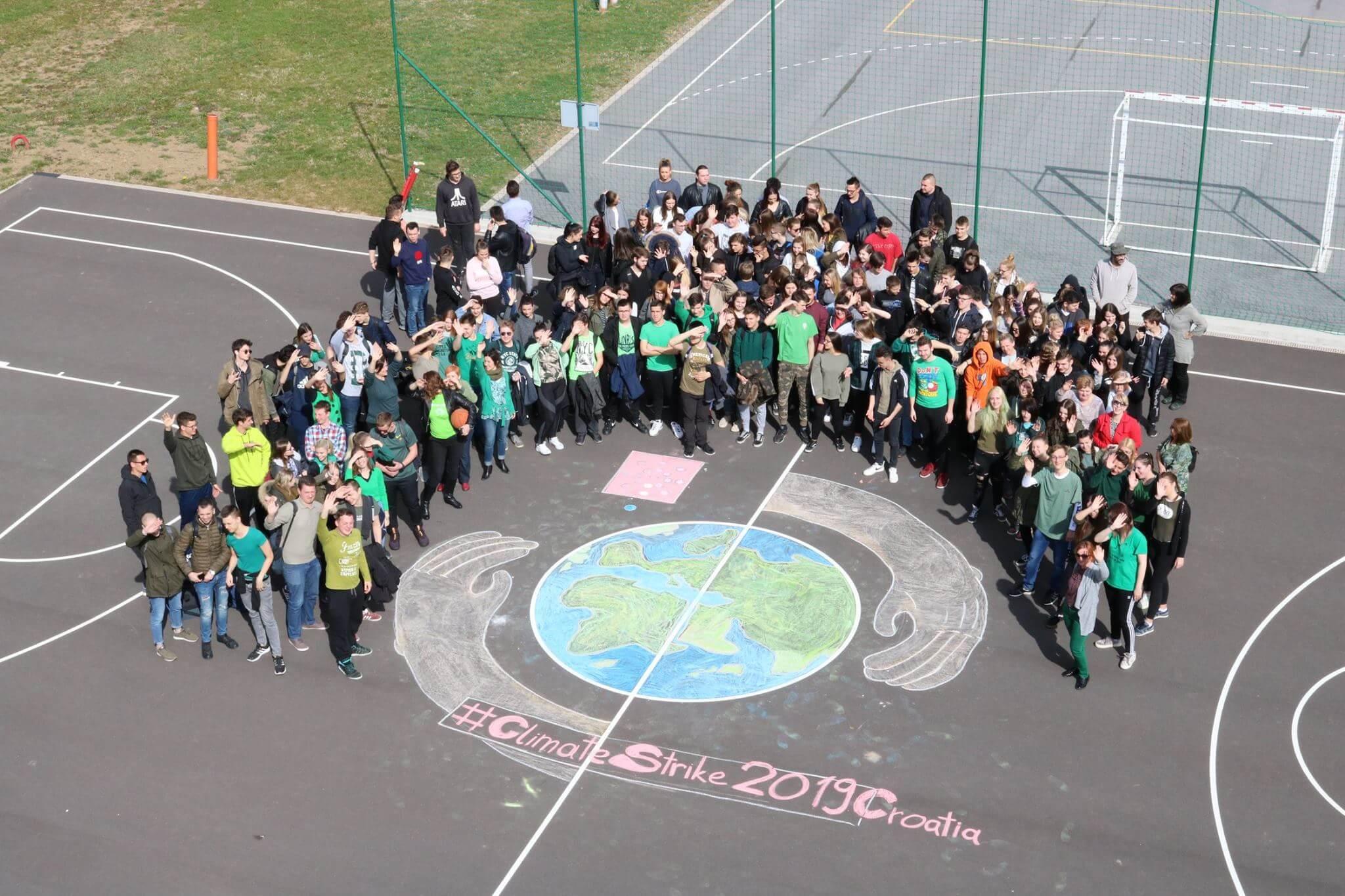 I sa zelenih zagorskih brega upozorili na klimatske promjene: 'Ljudi koji nam oduzimaju budućnost imaju imena'