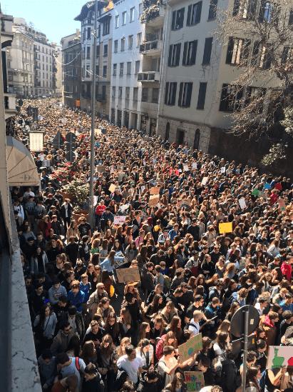 Kakav ponos! Milijun i pol učenika sa svih kontinenata jučer je prosvjedovalo za klimu