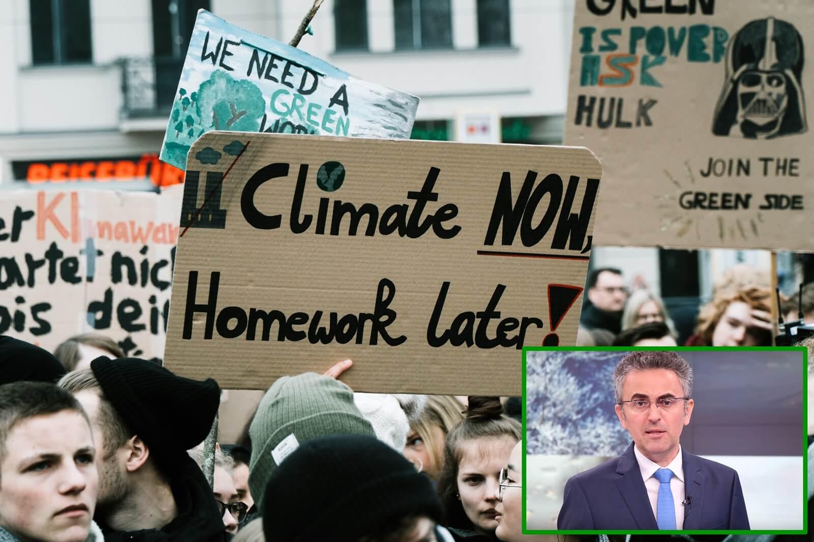 Globalni štrajk učenika za klimu podržao Zoran Vakula i još 32 hrvatska znanstvenika