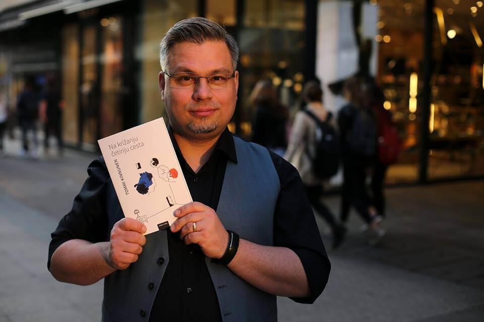 Finski književnik i profesor za srednja.hr ispričao kako se ne zamaraju testovima i klasicima u lektirama
