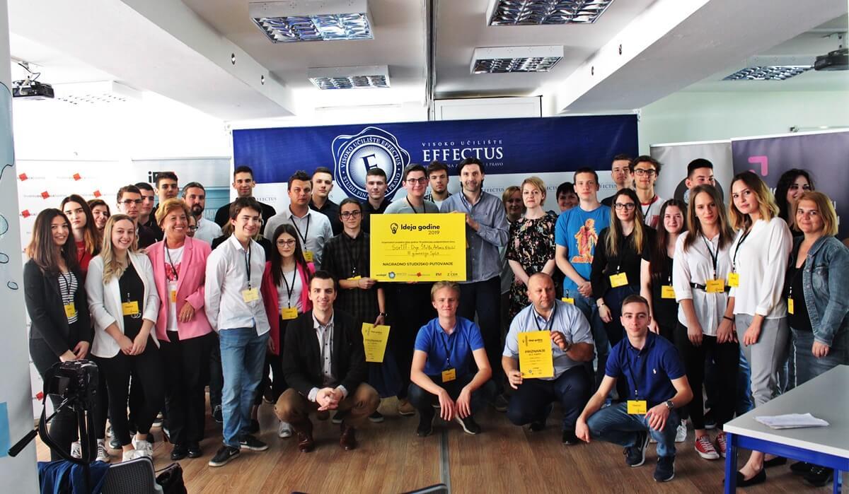 Genijalci iz Splita osmislili pametne spremnike za otpad i pobijedili na Ideji godine 2019.