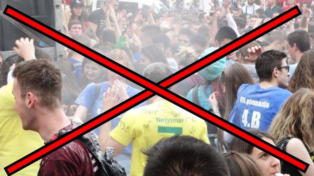 Na rubu tragedije: Pogledajte kako norijadu provode virovitički maturanti