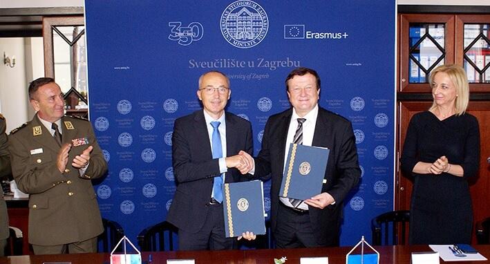 Boras potpisao sporazum s Vladom: Ustrojava se prvi studij domovinske sigurnosti u Hrvatskoj