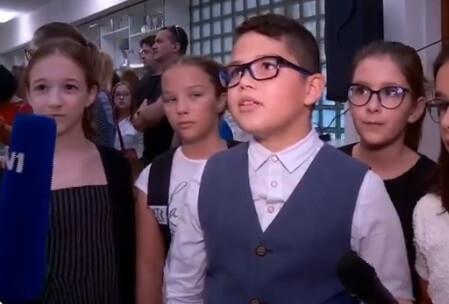 'Klinac' oduševio simpatičnom izjavom izjavom za TV: Evo što poručuje na prvi dan škole