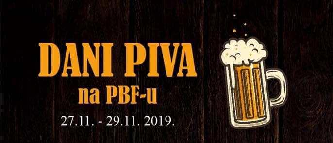 Dani piva na PBF-u