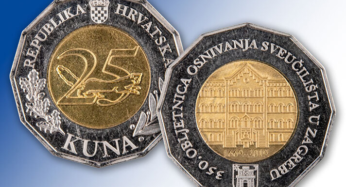 Nakon poštanskih markica, Sveučilište dobilo i kovanice od 25 kuna: Evo kako možete do njih