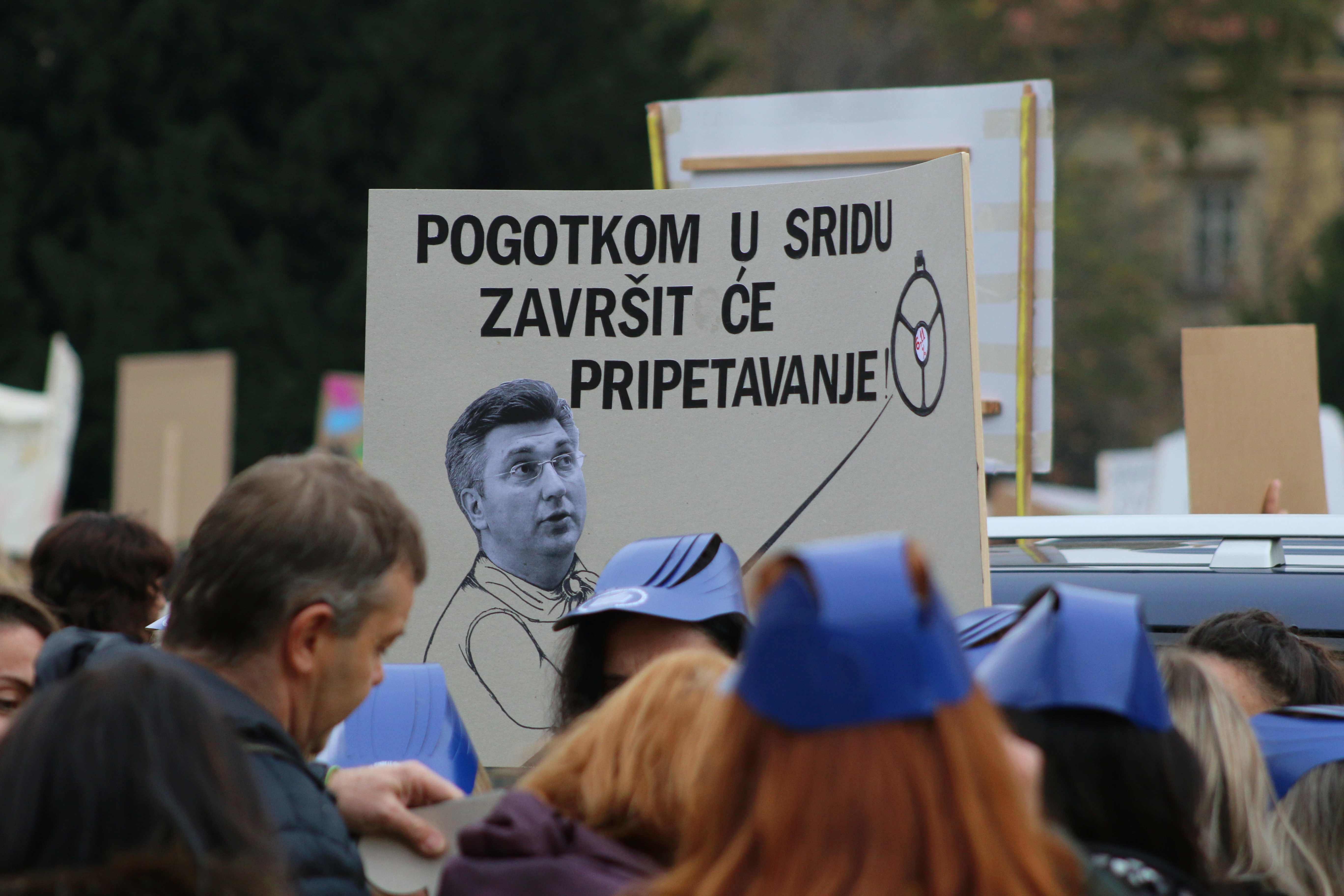 [UŽIVO] Završio sastanak sindikata i Vlade: Nema dogovora, štrajka se i sutra