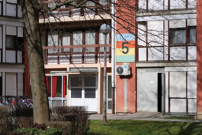 Peti paviljon Studentskog doma Stjepan Radić Sava