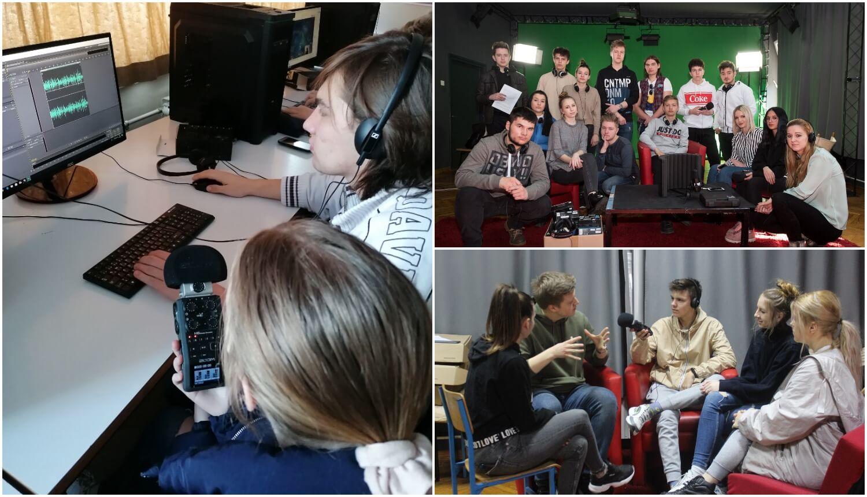Pokrenuli školski radio: Posla ima svaki dan, a puštamo glazbu koju također stvara jedan naš učenik