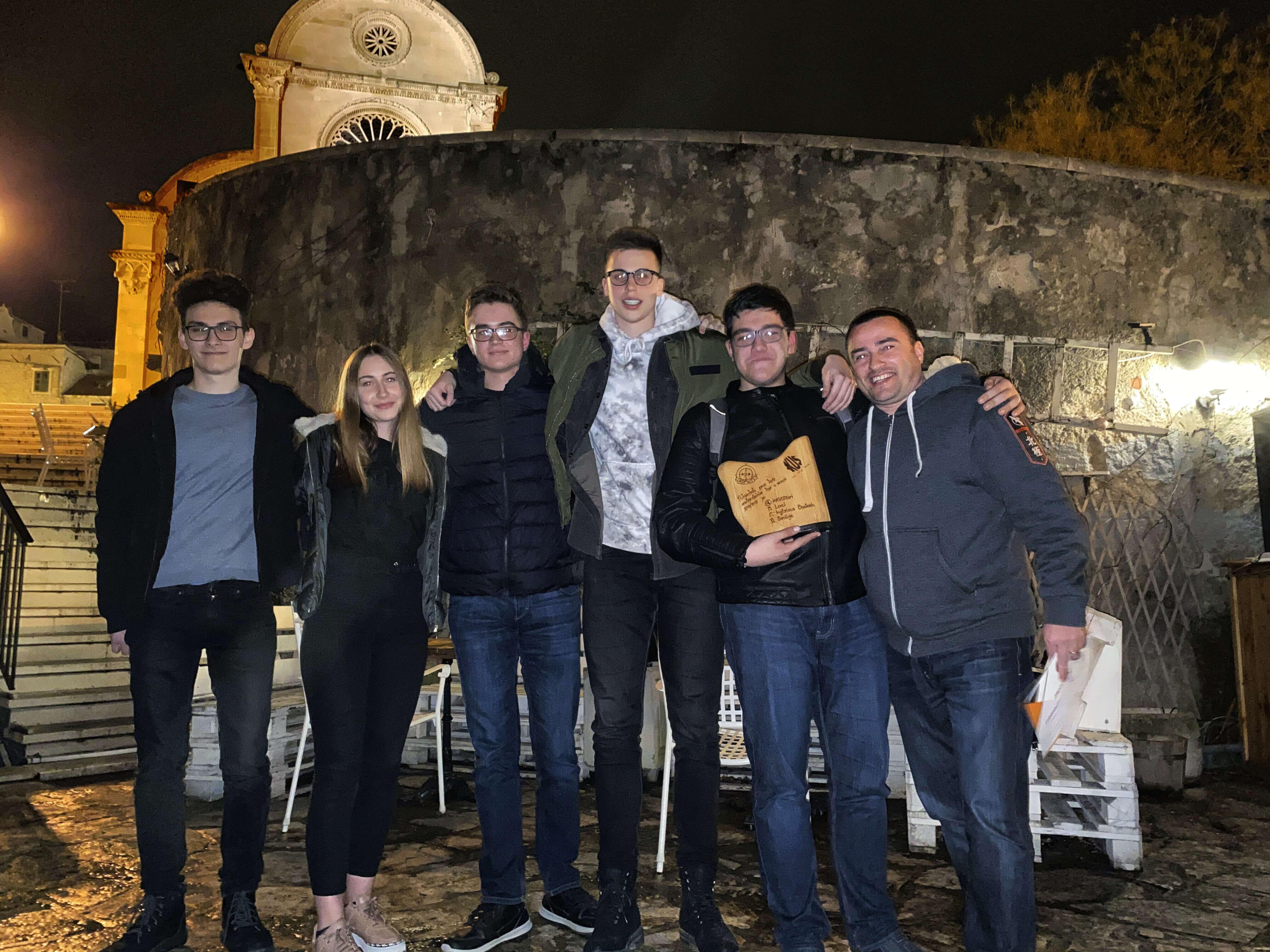 'Ovaj način povezivanja zabave i učenja je genijalan': InKvizitori odnijeli pobjedu u prvoj Kviz ligi srednjih škola u Šibeniku
