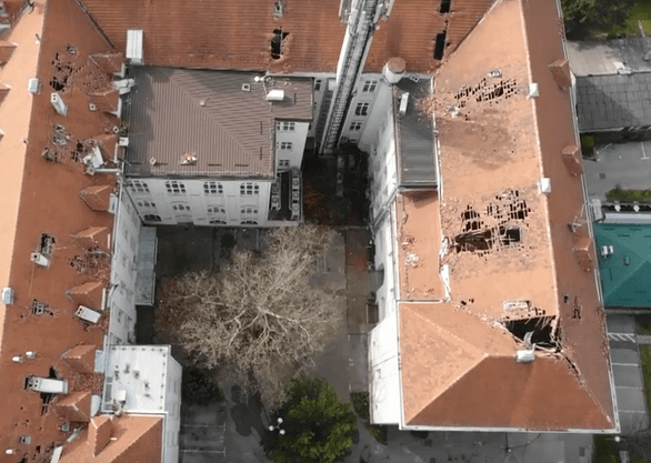 Izašle fotografije obnove Medicinskog nakon potresa, pogledajte kako napreduju radovi