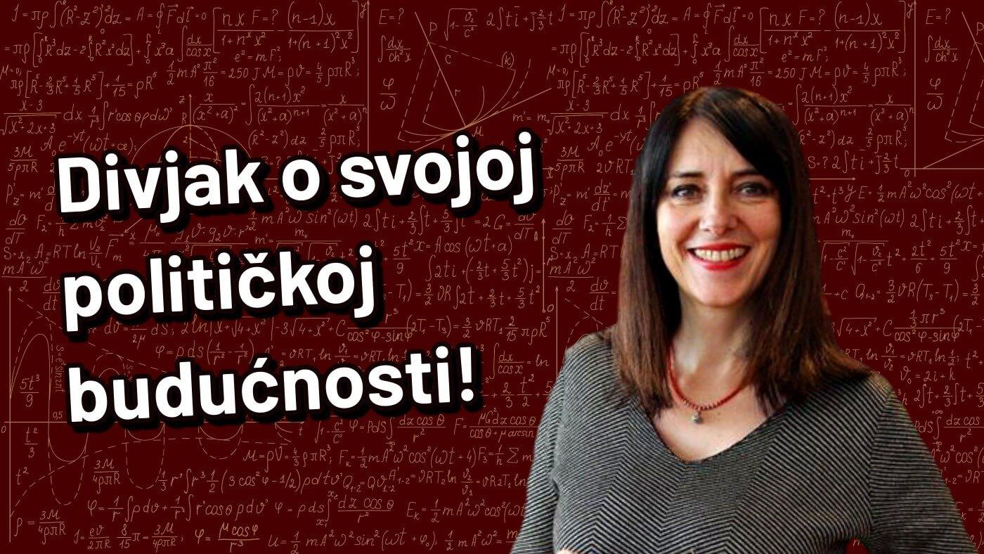 [VIDEO] Ministrica Divjak rekla nam je kako vidi svoju političku budućnost