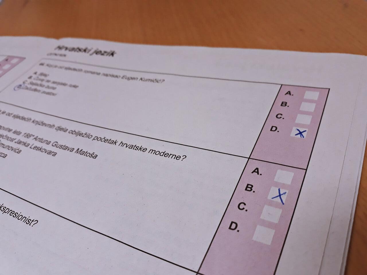 [Zadatak dana] Sutra se na maturi piše Hrvatski: Jeste li spremni, provjerite u zadatku s ljetnog roka