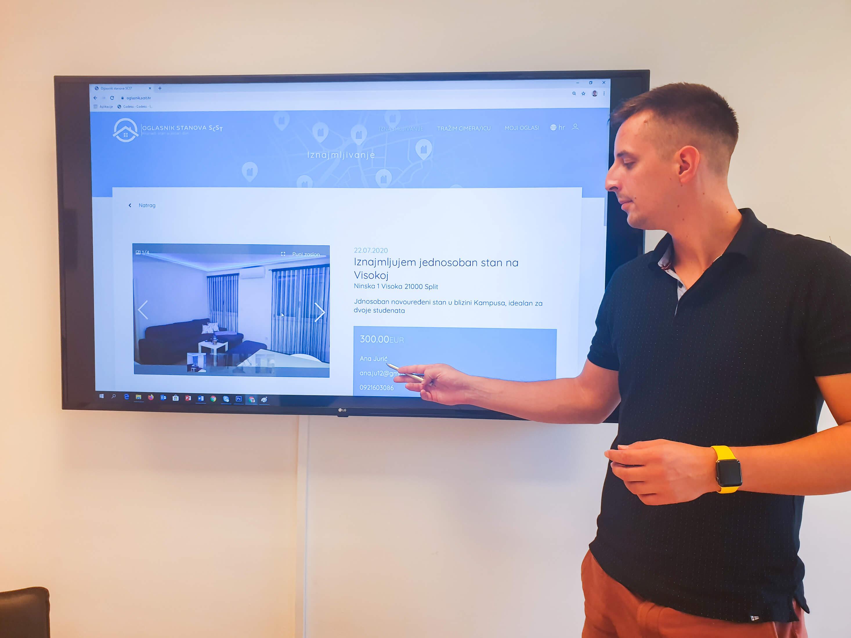 Zahvaljujući novoj aplikaciji Sveučilišta, studenti do stana mogu u svega dva klika